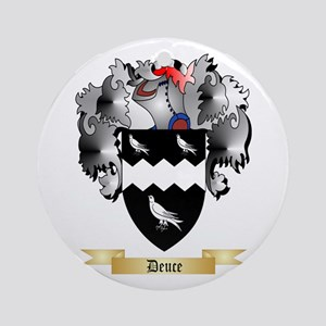 Deuce Ornament (Round)