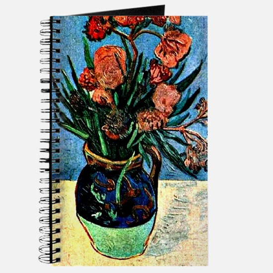 Van Gogh - Still Life Vase with Oleanders Journal