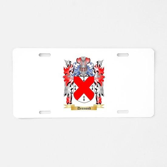 Desmond Aluminum License Plate