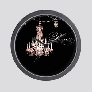 Princess Chandelier Girly Jewel Pearl Design Wall