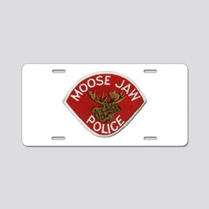 Moose Jaw Police Aluminum License Plate