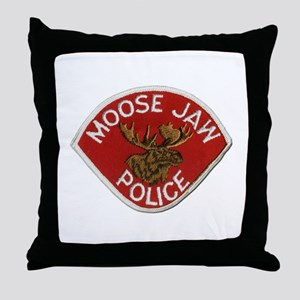 Moose Jaw Police Throw Pillow