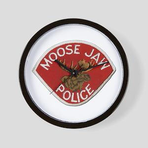 Moose Jaw Police Wall Clock