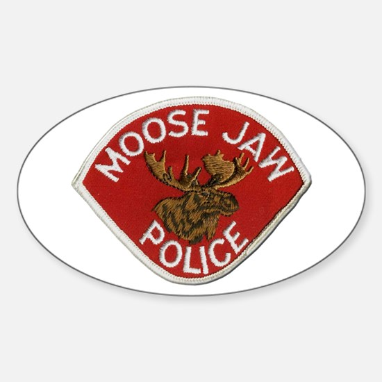 Moose Jaw Police Decal