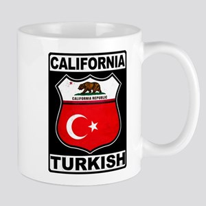 California Turkish American Mugs