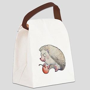 Cute Hedgehog Canvas Lunch Bag
