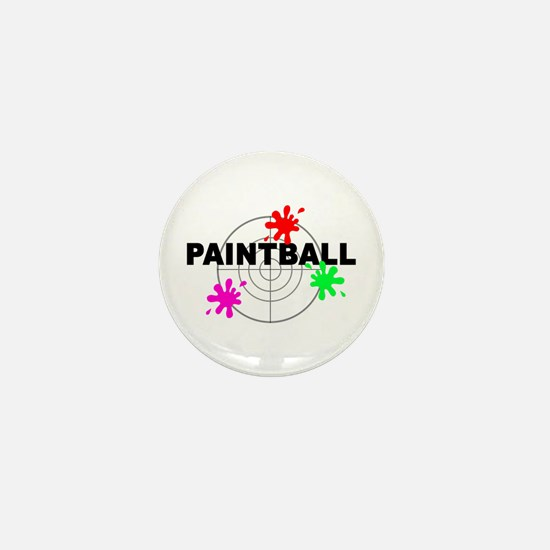 Paintball Paintball Mini Button