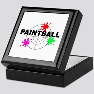 Paintball Paintball Keepsake Box