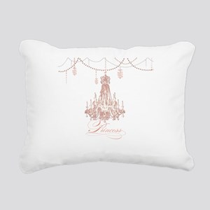 Princess Chandelier Girly Jewel Pearl Design Recta