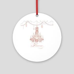 Princess Chandelier Girly Jewel Pearl Design Ornam