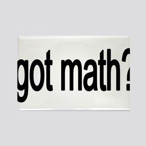 got math black Magnets