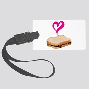 I Love Peanut butter and Jelly Sandwich Luggage Ta