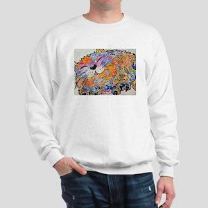 Rainbow Calico Sweatshirt