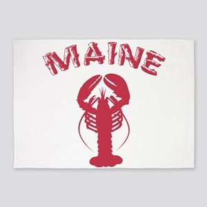 Maine Lobster 5'x7'Area Rug