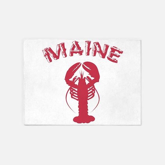 Maine Lobster 5'x7'Area Rug
