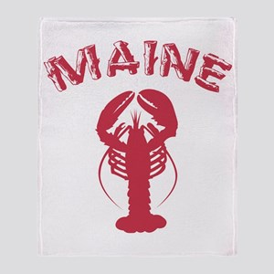 Maine Lobster Throw Blanket