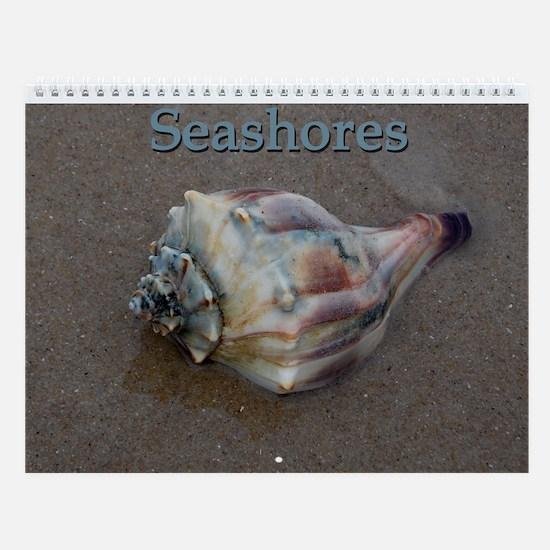 Seashores Wall Calendar