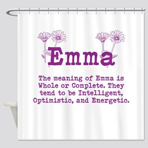 The Meaning of Emma Shower Curtain