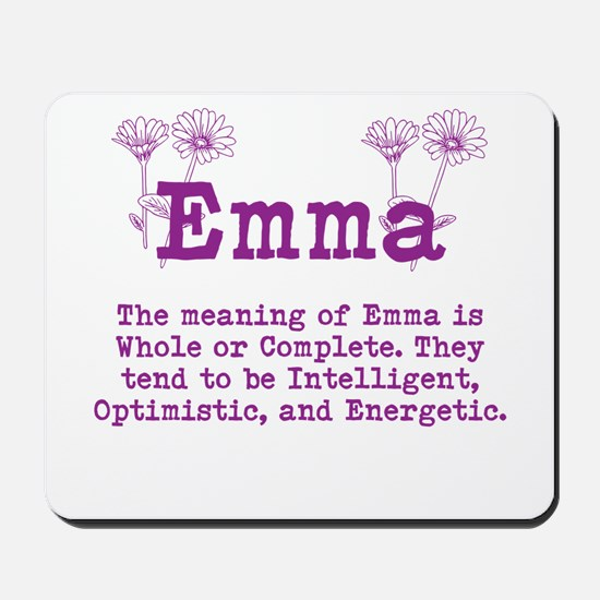 The Meaning of Emma Mousepad