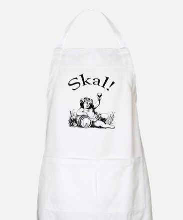 Swedish Toast Wine BBQ Apron