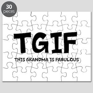 Fabulous Grandma Puzzle