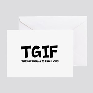 Fabulous Grandma Greeting Card