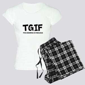 Fabulous Grandma Women's Light Pajamas
