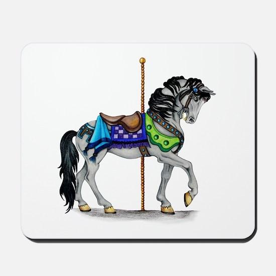 The Carousel Horse Mousepad