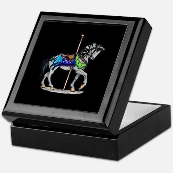 The Carousel Horse Keepsake Box