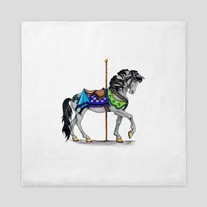 The Carousel Horse Queen Duvet