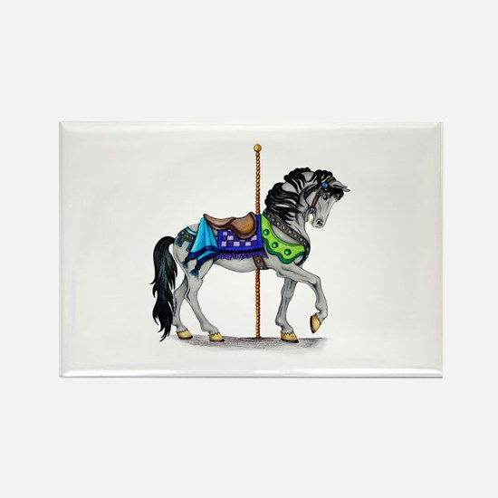 The Carousel Horse Magnets