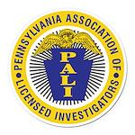 PALI logo Round Car Magnet