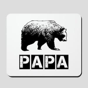 Papa-bear Mousepad