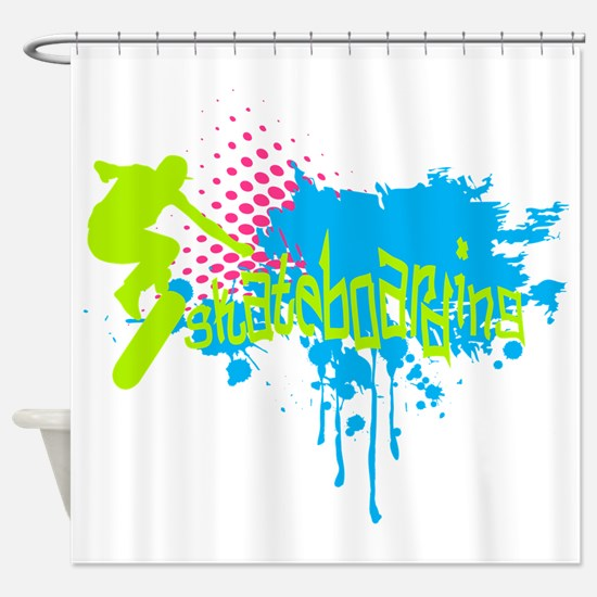 Unique Teenagers Shower Curtain