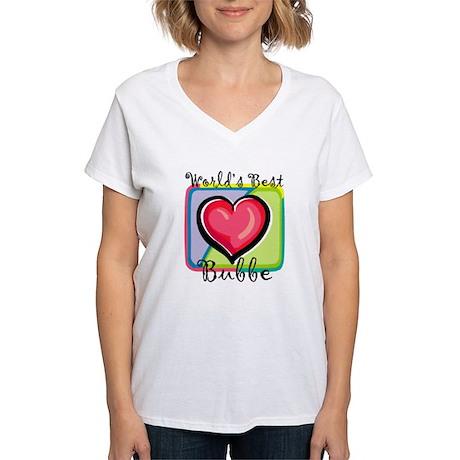 WB Grandma [Yiddish] Women's V-Neck T-Shirt