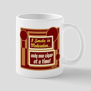 Smoke In Moderation-Mark Twain Mugs
