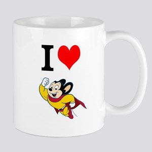 I Love Mighty Mouse Mugs