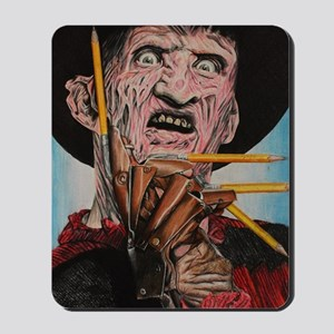 Freddy and Pencils Mousepad