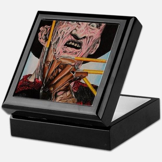 Freddy and Pencils Keepsake Box