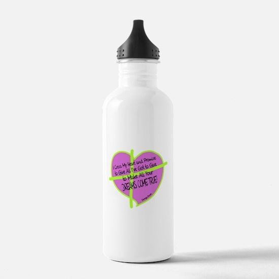 Cross My Heart-George Strait Water Bottle