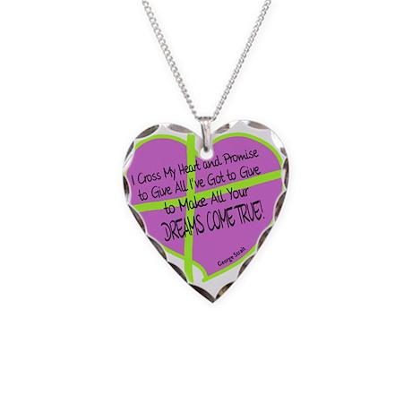 Cross My Heart-George Strait Necklace