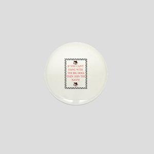 Big Dog Navy Mini Button