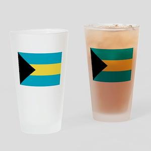 bahamas-flag Drinking Glass