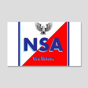 NSA Wall Decal
