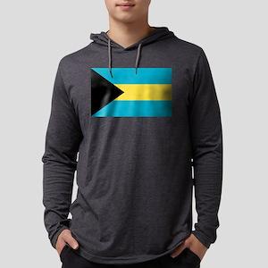 Bahamian Flag Long Sleeve T-Shirt