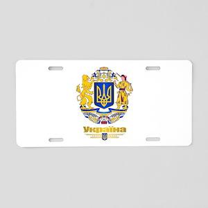 Ukraine COA Aluminum License Plate
