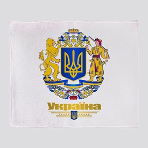Ukraine COA Throw Blanket