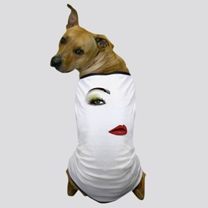 Womans Face Dog T-Shirt