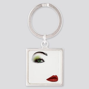 Womans Face Keychains