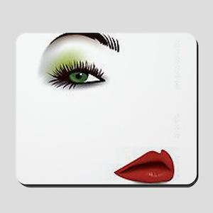 Womans Face Mousepad